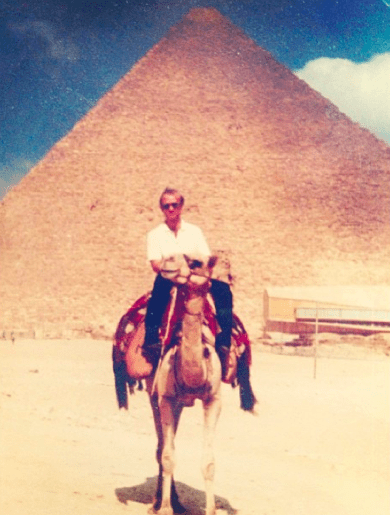 One of my favorite pictures of my dad!