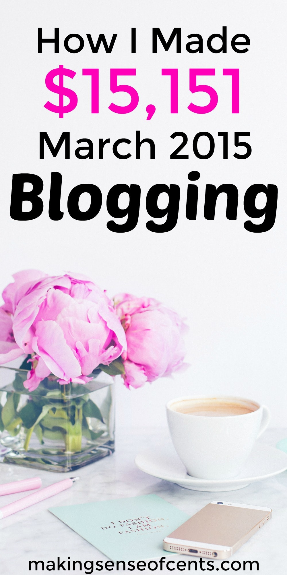 Find out how I made $15,151 blogging. This is a great list!