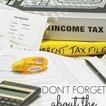 Tax Deadline is April 15th!