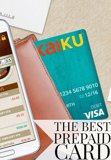 Should You Get The Kaiku Visa® Prepaid Card