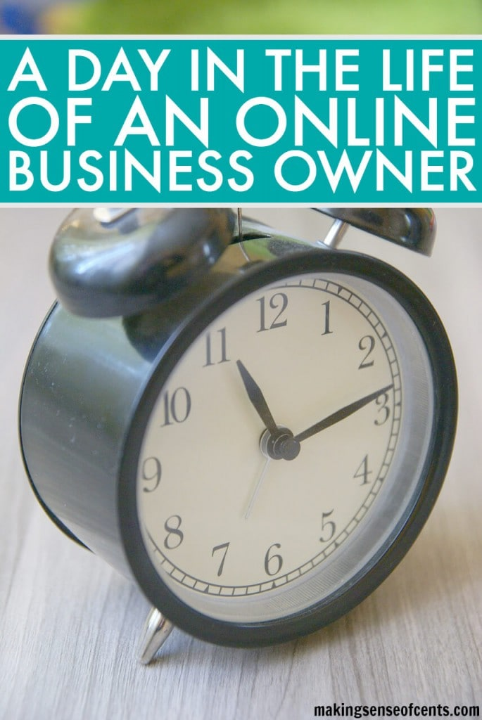 Do you know what the average day for an online business owner is usually like? Read here to learn about a day in the life of an online business owner (ME!).