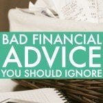The Worst Money Advice I've Ever Heard Part 2