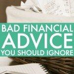 The Worst Money Advice I've Ever Heard Part 2