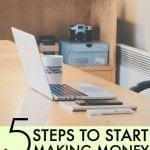 5 Steps You Need to Follow to Finally Start Making Money With Your Blog