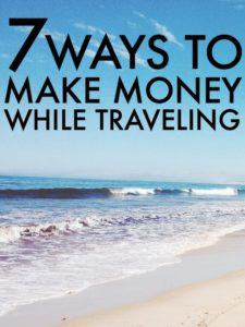 Ways To Make Money While Traveling (1)