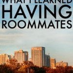 What I Learned Having Roommates