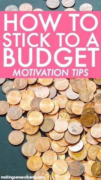 How To Stick To A Budget - Financial Motivation Tricks