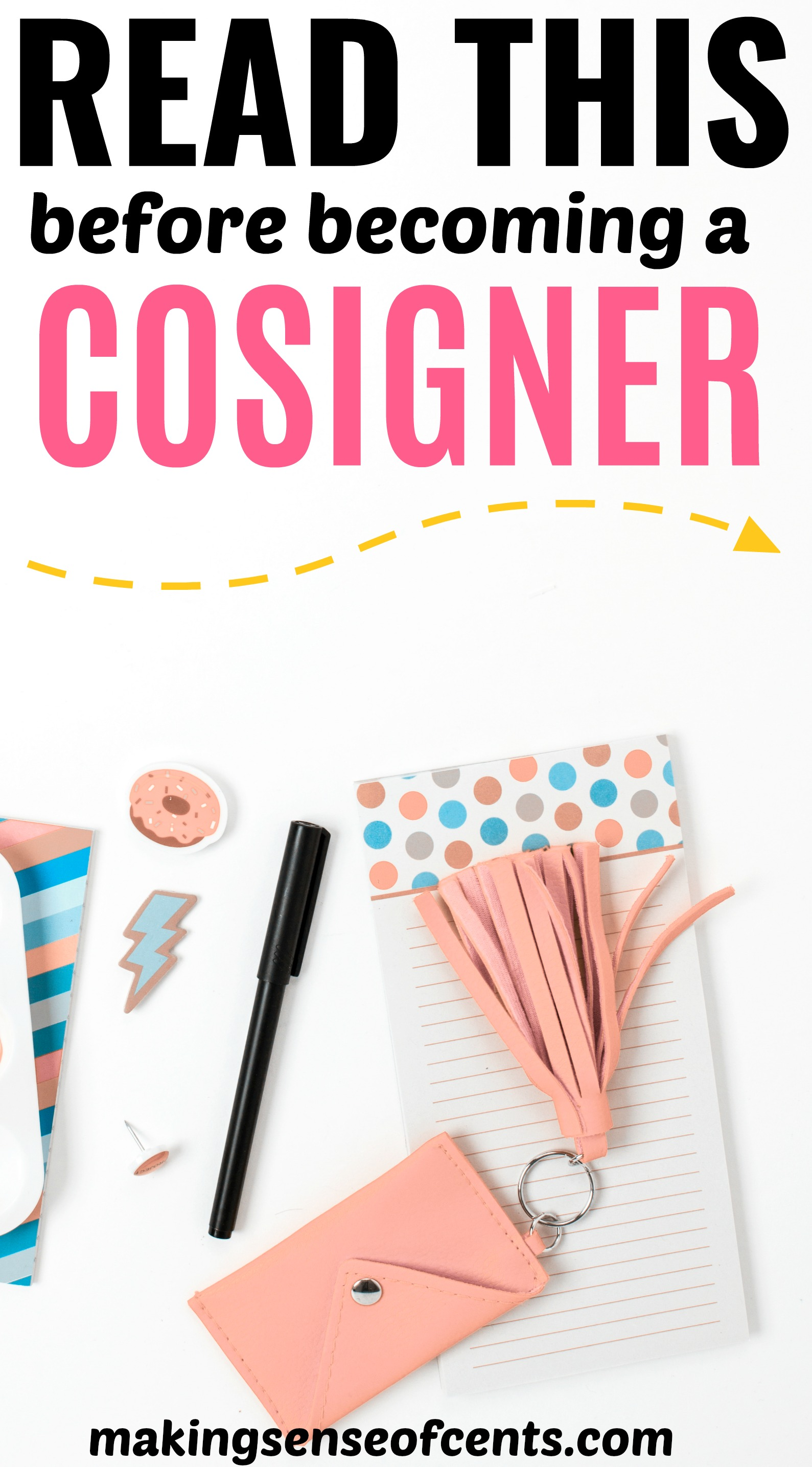 Cosigning A Loan - Read This Before Being A Cosigner