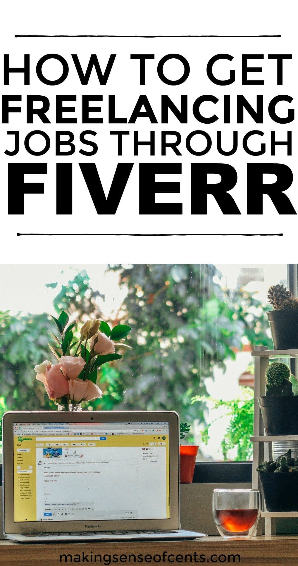 Find out how to get freelancing jobs through FIVERR. #freelancing