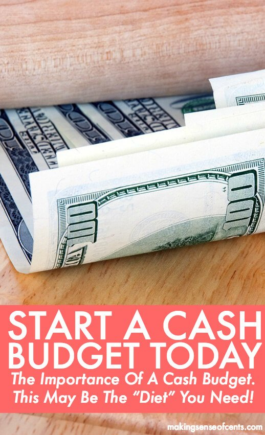 "The Importance Of A Cash Budget - This May Be The ""Diet"" You Need!"