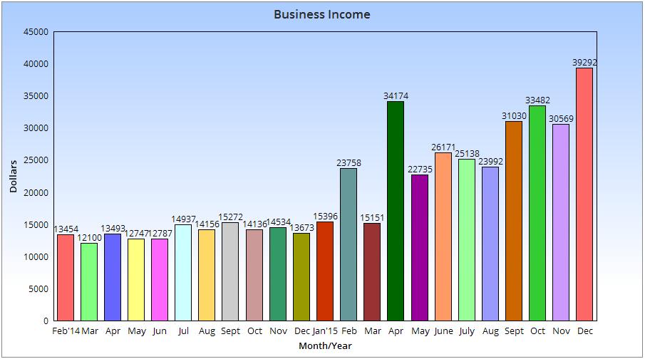 Annual Income Chart