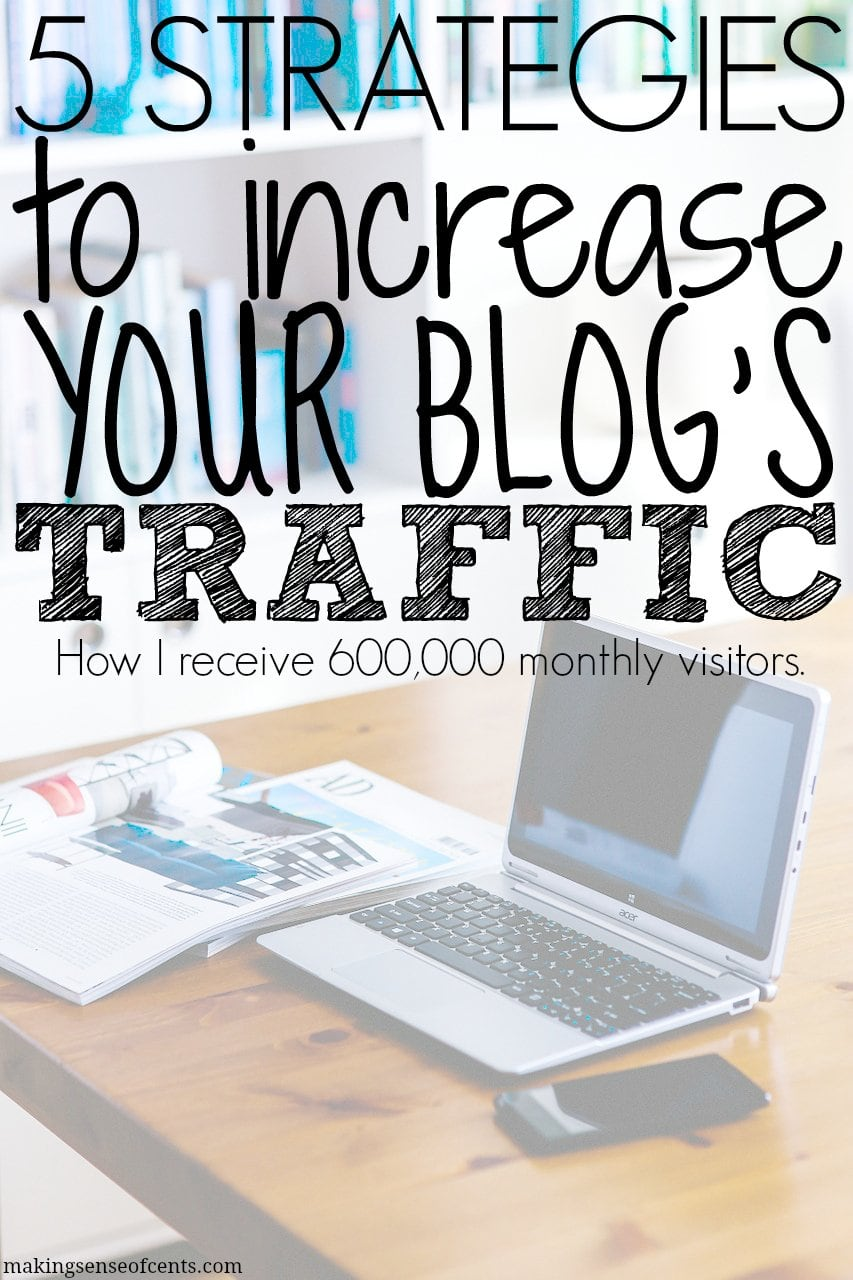 5 Effective Strategies to Increase Your Blog Traffic