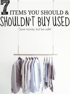 7 Items You Should And Shouldn't Buy Used