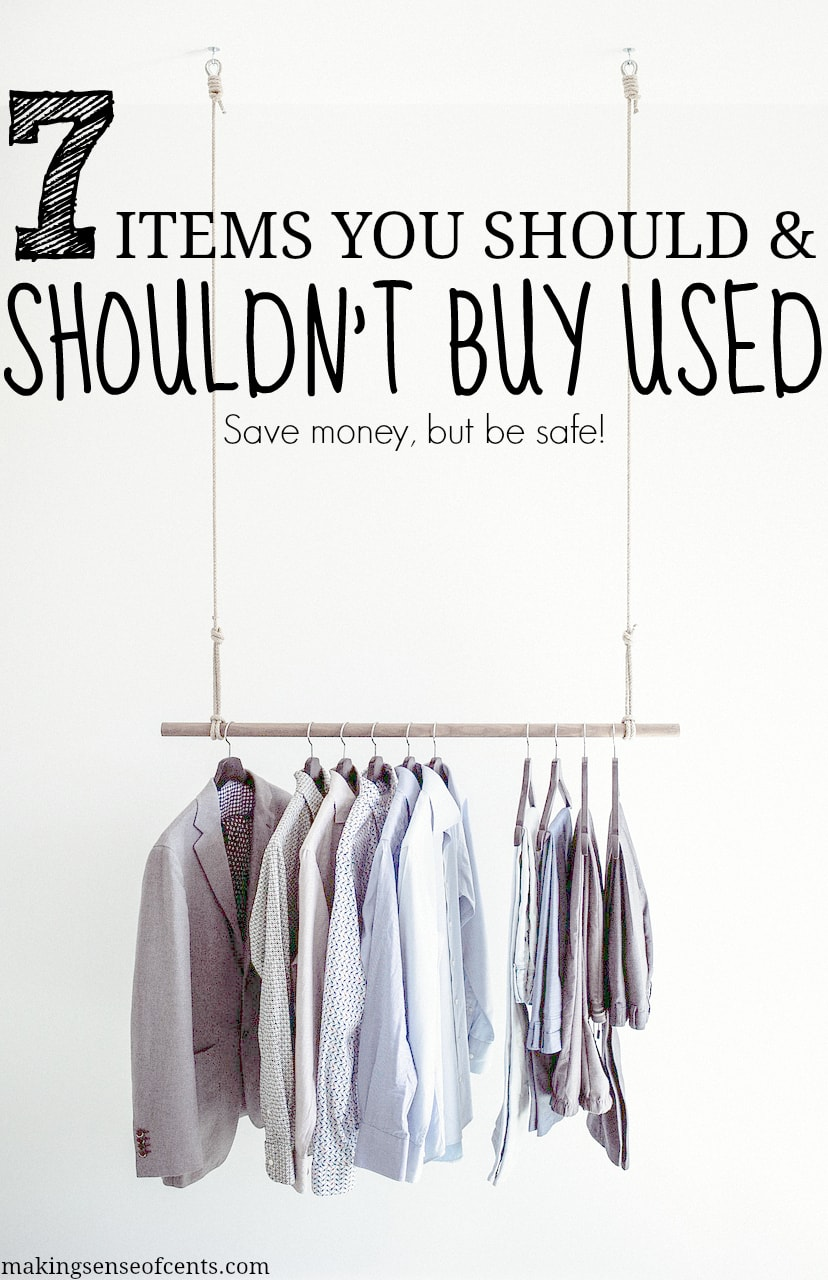 7 Items You Should And Shouldn T Buy Used