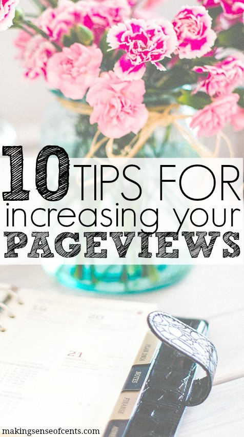 Tips For Increasing Your Blog's Pageviews