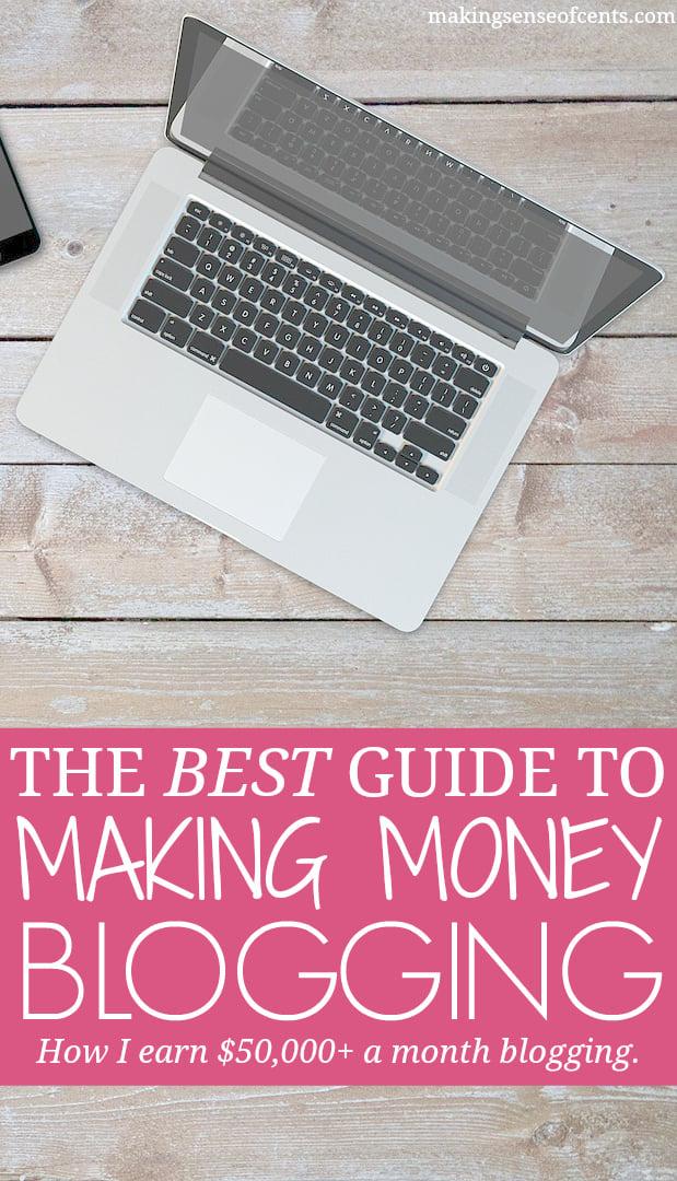 Fare soldi blog è qualcosa che TU puoi fare.  Guadagno oltre $ 50.000 al mese con il mio blog e ti faccio vedere come guadagnare anche con un blog.