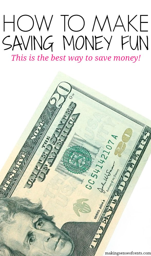 How To Make Saving Money Fun - This Is The BEST Way To Save Money