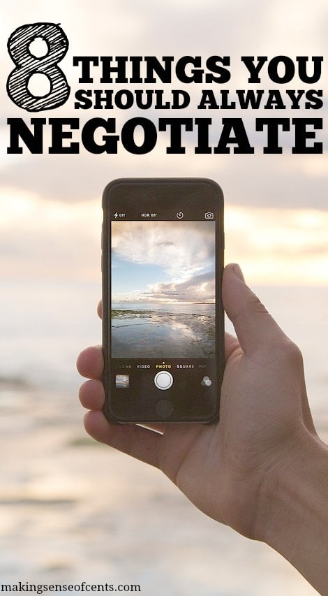 8 Things You Should Always Negotiate On