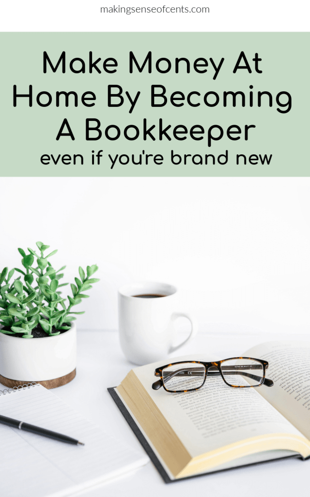 Are you interested in becoming a bookkeeper? Here's how to become a bookkeeper to earn money from home. You don't have to be an accountant or have previous experience!