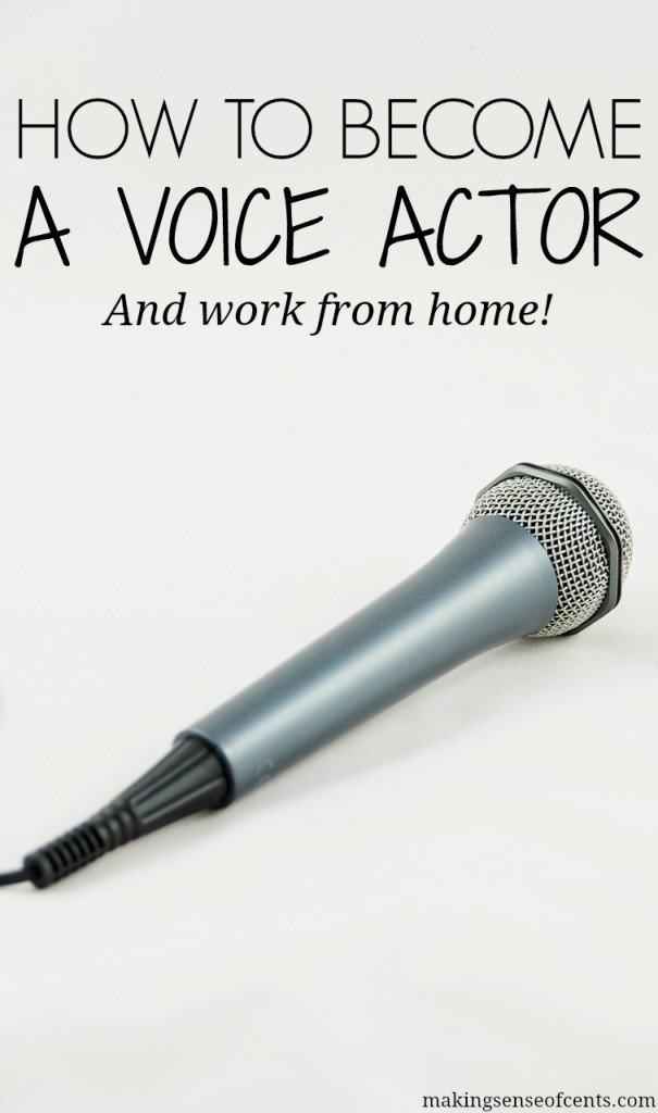 How To Become A Voice Over Actor - Start Voice Acting Today!