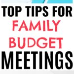 Family Budget Meetings – Yes, You Need To Have Them