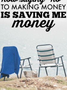 "How Saying ""No"" to Money is Saving Me Money"