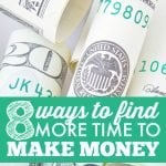 How To Find Time To Make More Money