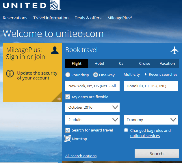 United Homepage