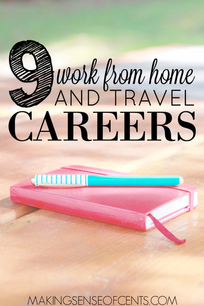 There are many ways to work and travel. Check out these ways including being an au pair, selling on Amazon, bookkeeping, writing, proofreading, and more!