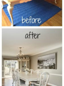 Before & After Dining Table