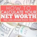 Do You Know Your Net Worth?