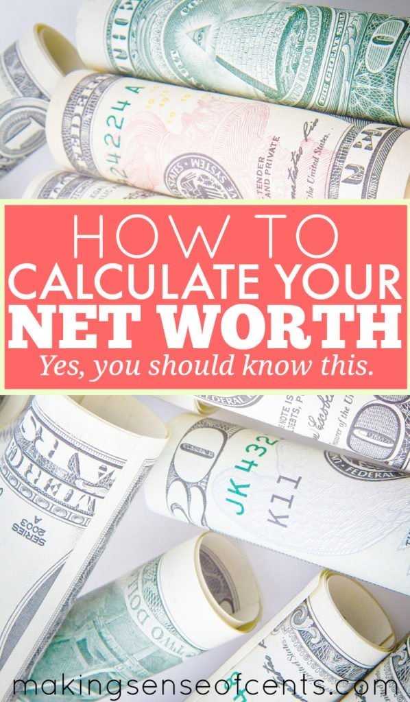 Do you know your net worth? According to the Association for Financial Counseling and Planning Education, only 5% of people know their net worth. Crazy!
