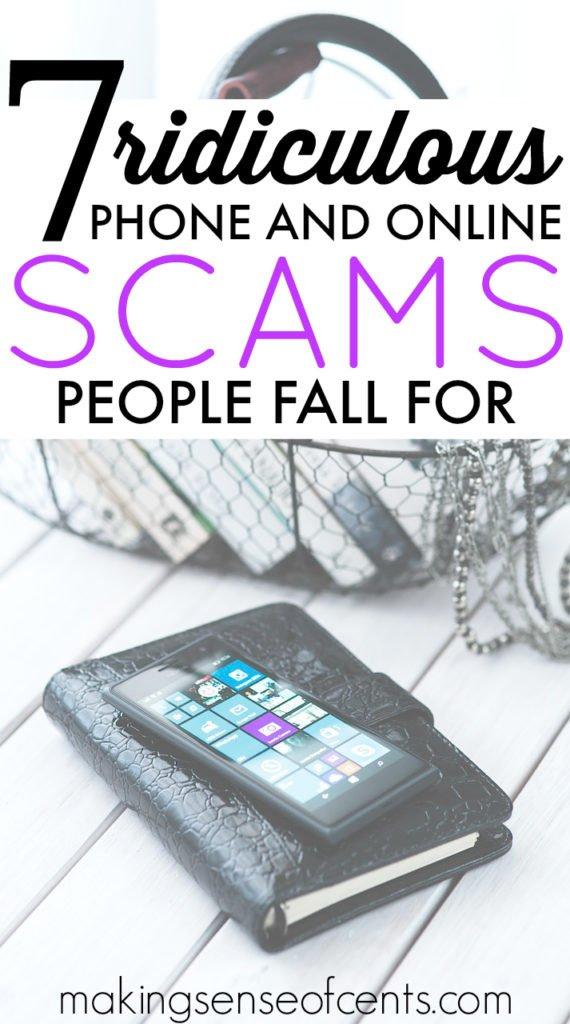 Phone scams and online scams are everywhere. Here are several different phone and online scams that many are currently falling for. Don't be next!
