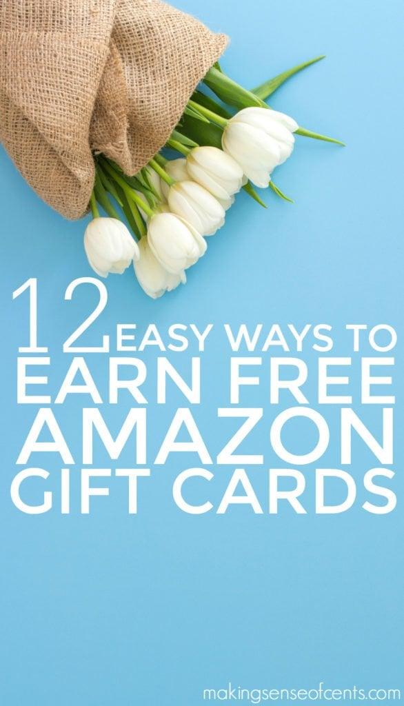 How To Earn Free Amazon Gift Cards Ways To Earn Amazon Gift Cards