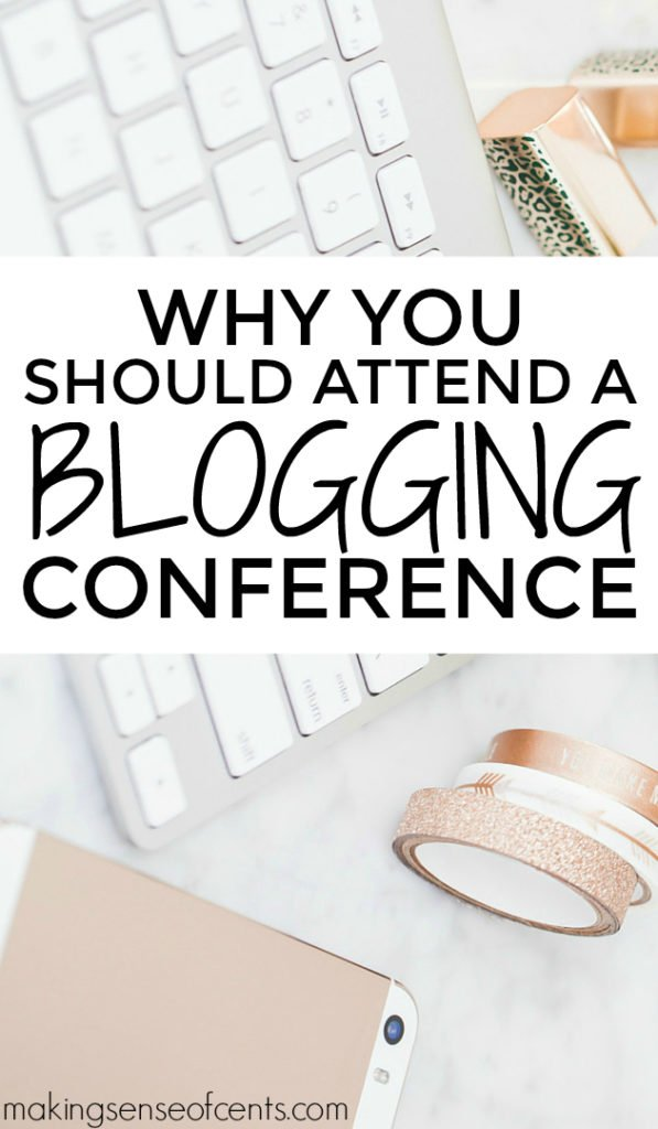 If you're thinking about attending a conference, I recommend you give it a shot, especially if you want to take your blog more seriously, professionally, and/or possibly even blog full-time. If you're blogging full-time, then definitely attend blog conferences as they can help you grow even further!