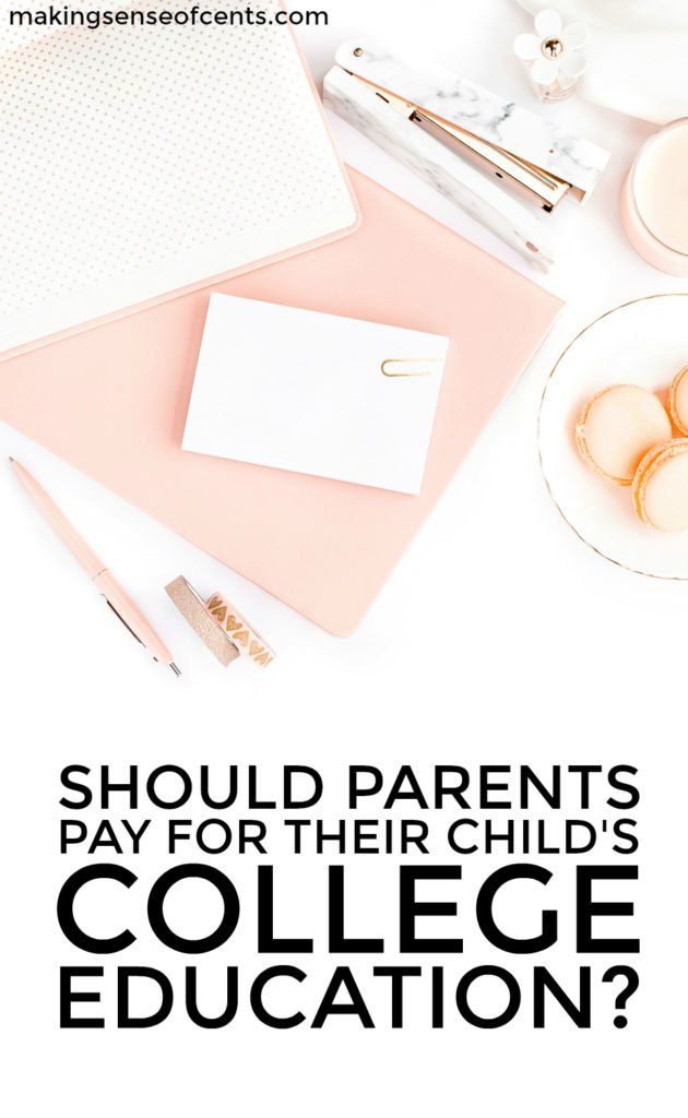 Should parents pay for college? Do parents HAVE to pay for college? Before you think about obtaining college loans for parents, you should read this.