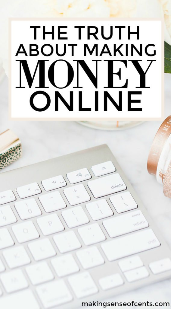 Working online- it's all supposed to be great, right? Okay, I won't lie, for the most part it is great. However, there are some truths about making money online that I want to share today.