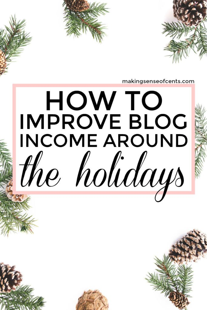 The holidays are a big time for shopping, which means it's also a great time for affiliate marketing! November and December are the biggest shopping months of the year and are often the biggest income months for bloggers and affiliate marketers. Here is how you can improve your blogging income around the holidays!