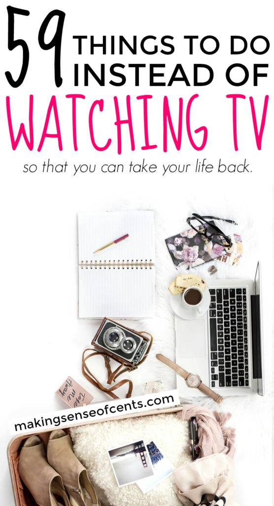 benefits living without television