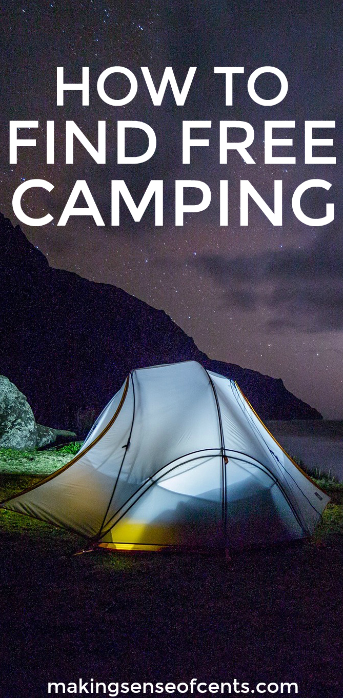 How To Find Free Camping, Free Campsites, Free RV Camping