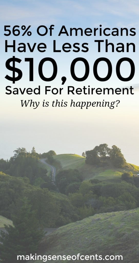 Why Aren T People Saving For Retirement 56 Have Less
