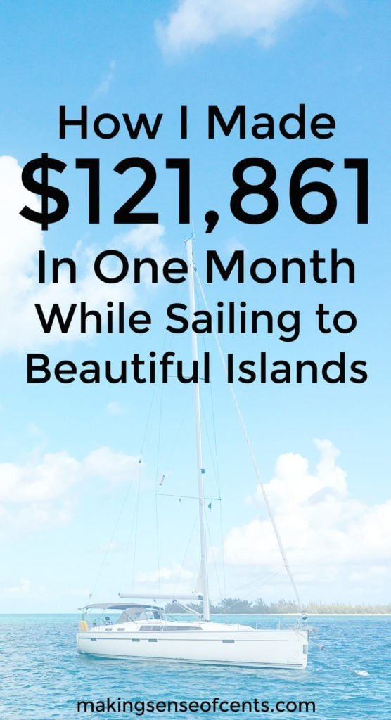 Here's how Michelle made over $120,000 in one month from her blog. She did this while on vacation for most of the month too!