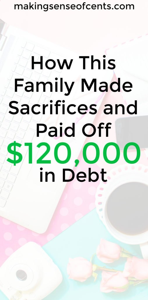 Aja McClanahan made big sacrifices and paid off $120,000 in debt! She is now debt free and aiming for early retirement.