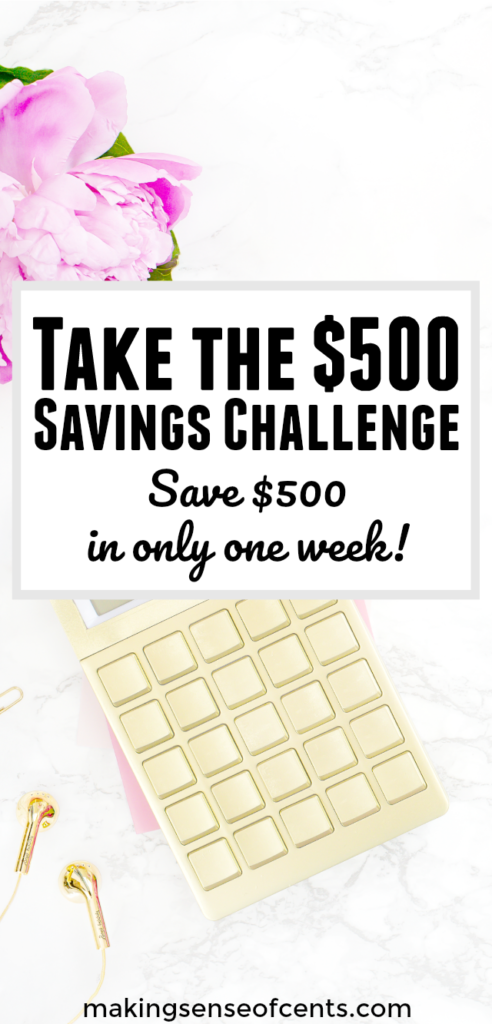 Over 94,000+ people have taken up the $500 Savings Challenge  - join them this back-to-school season!  This is a FREE 7-day email program to help you stash away $500 - in one week! Get the best savings tips, tricks and strategies to help you build your emergency fund faster.