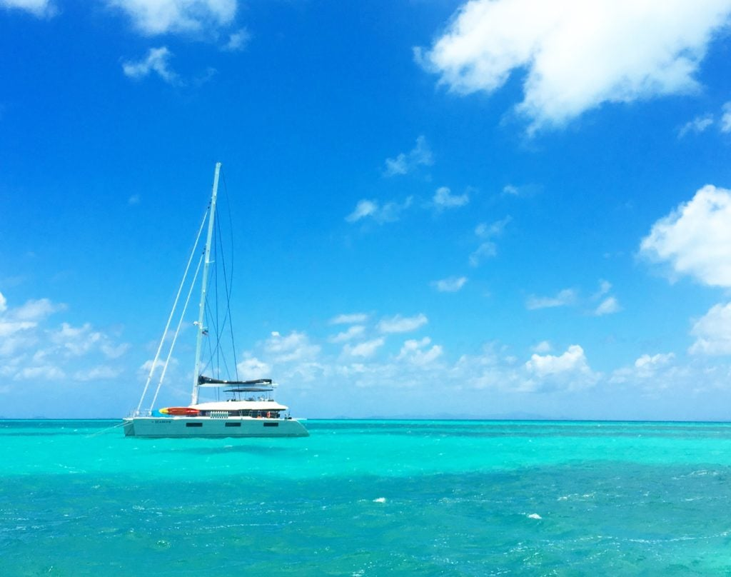 Sailboat This Life Catamaran Charter Virgin Islands
