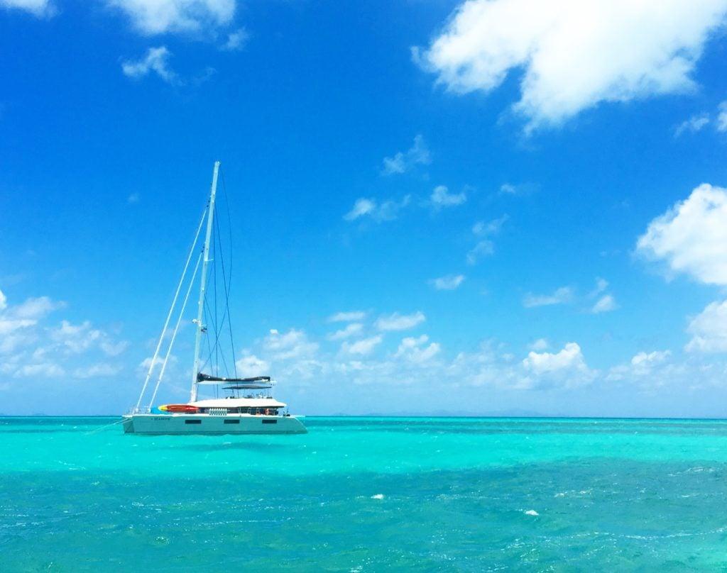 British virgin islands sailing charter
