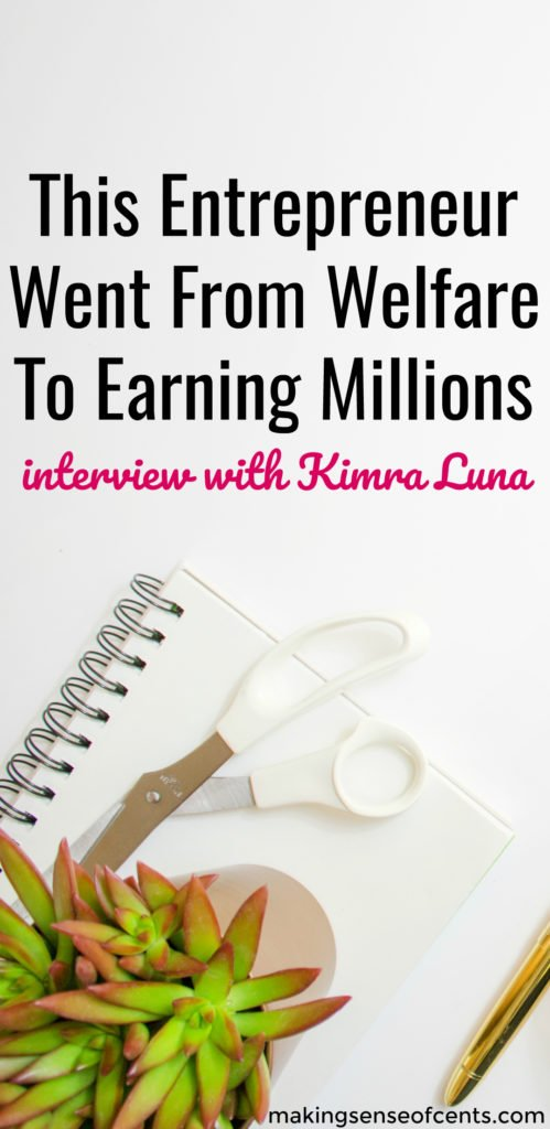 If you don't know who Kimra Luna is, then you may be living under a rock! Kimra helps entrepreneurs (like you!) monetize their companies and brands online. She has a huge and loyal audience of over 100,000 followers.