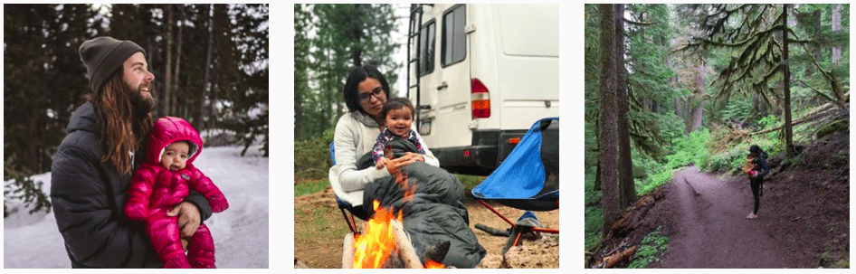 Giddi and Jace live in a van and travel full-time with their baby and dog. They are outdoor enthusiasts who purchased and converted a Sprinter van. #vanlife