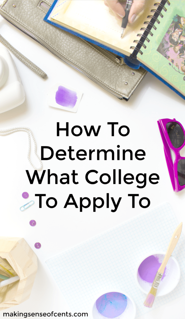 How To Determine What College To Apply To
