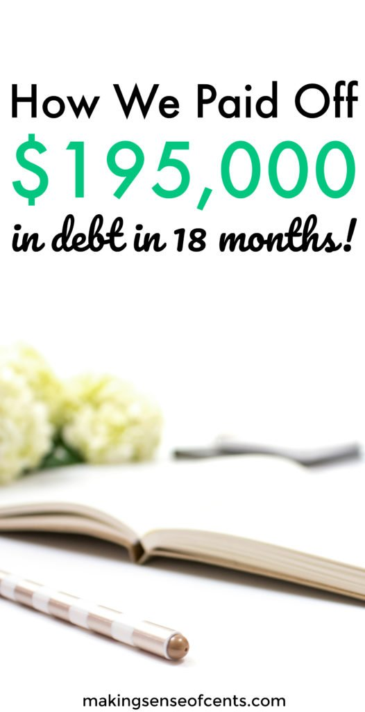 Sami and Dallas paid off debt in the amount of $195,000 in just 18 months. You can read more about their amazing debt payoff story here. Here are their tips to help you pay off debt quickly, find motivation, and more!